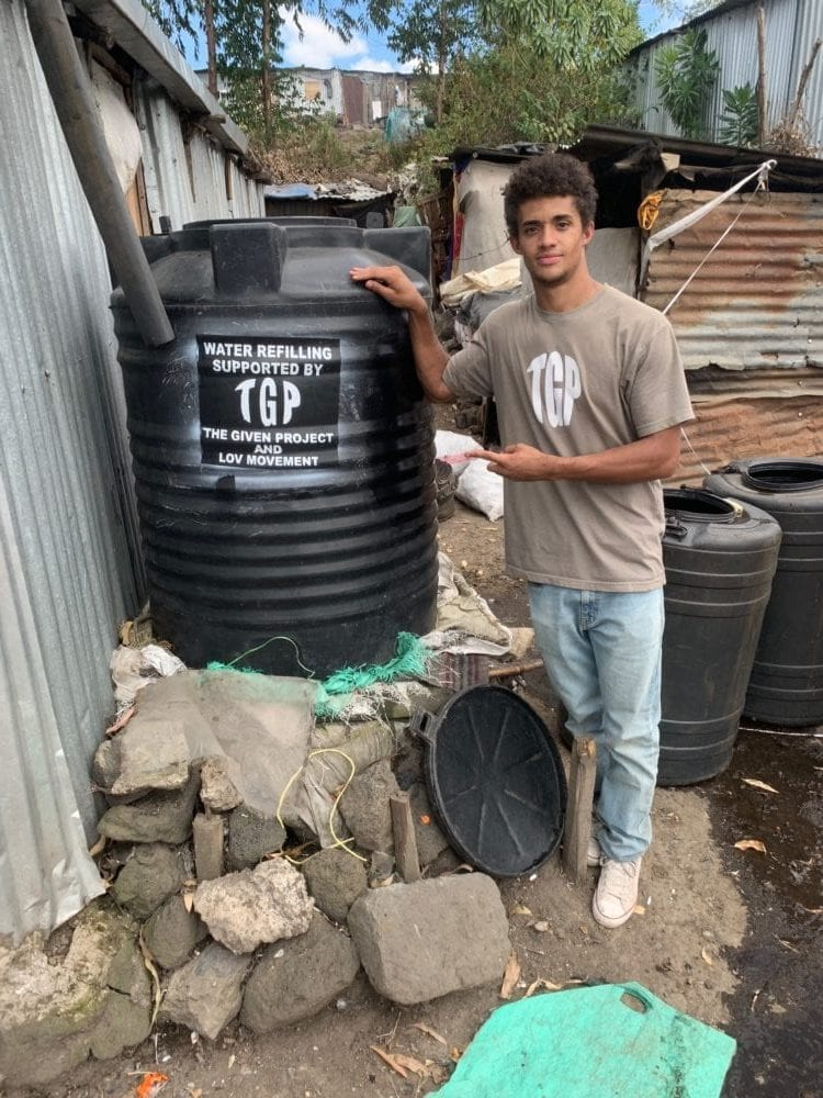 Local charity LOV Movement helps create sustainable change in Skid