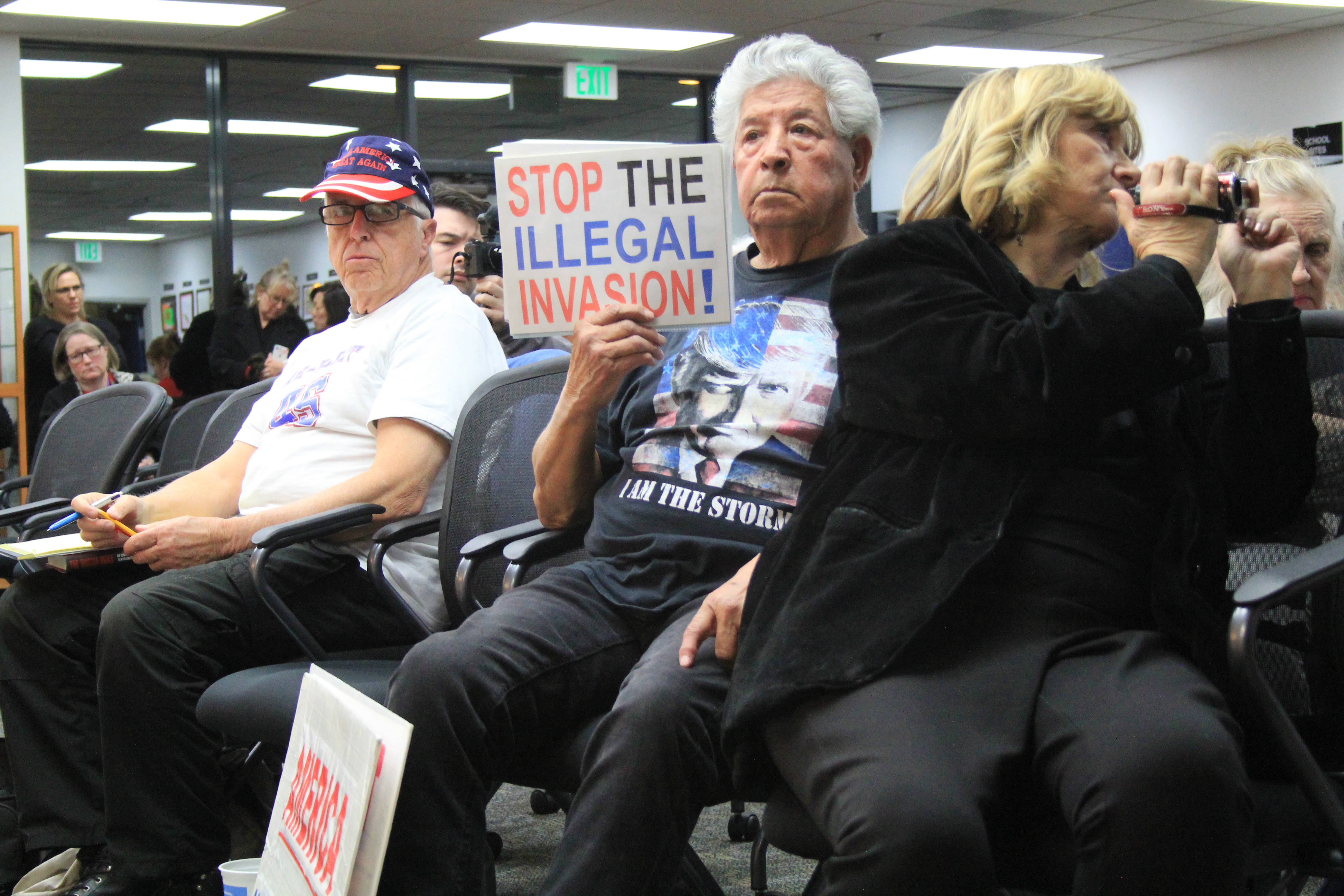 Saugus board meeting turns heated over board member's protest