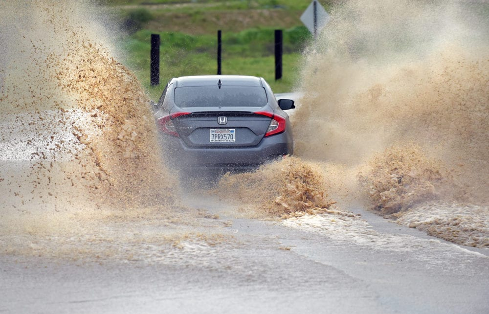 Nearly 2 inches of rain gets dumped on SCV in 24 hours