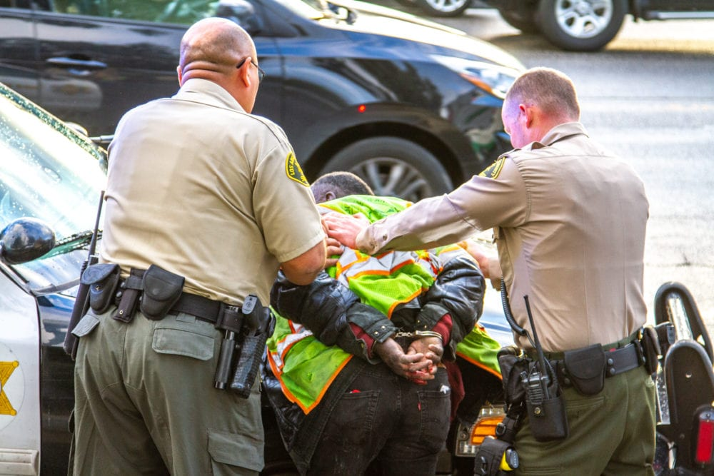 Man detained after incident on Santa Clarita bus