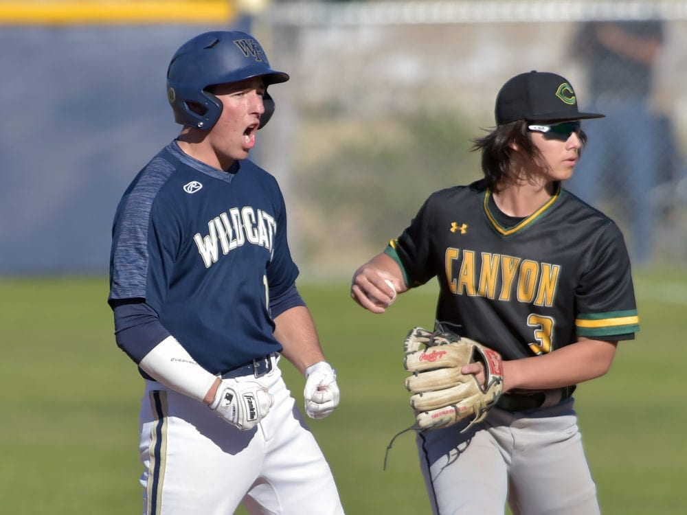 West Ranch baseball showcases skills in win over Canyon