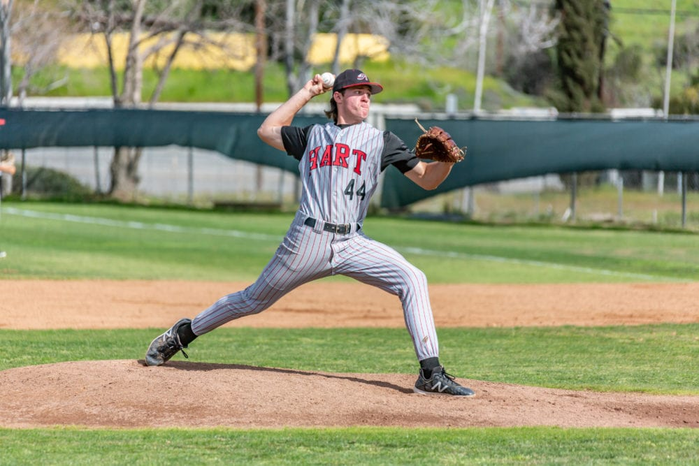 Hart baseball strings together runs late in win over Canyon