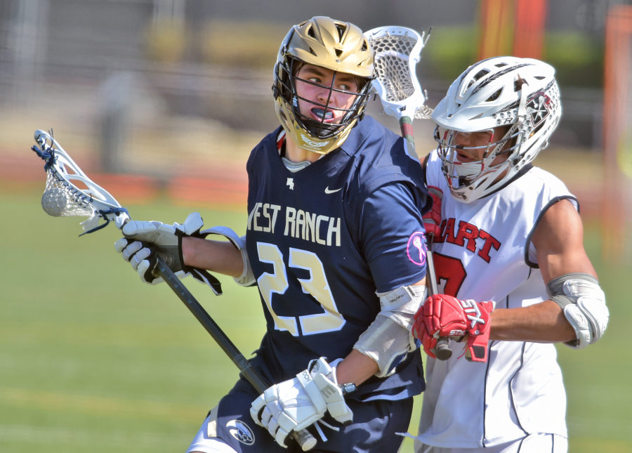 West Ranch boys lacrosse wins first-ever Foothill League title with win at Hart