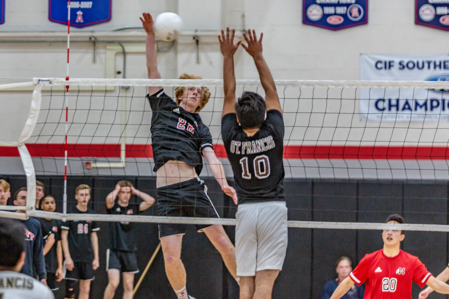 Hart boys volleyball beats St. Francis in CIF-SS wild-card game