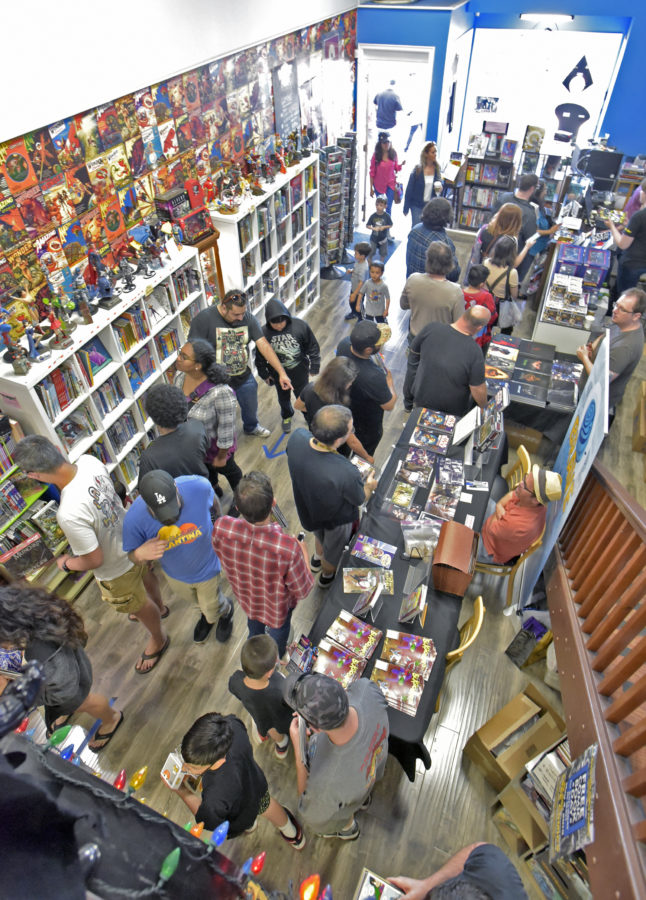 Comic readers make their way across SCV for Free Comic Book Day