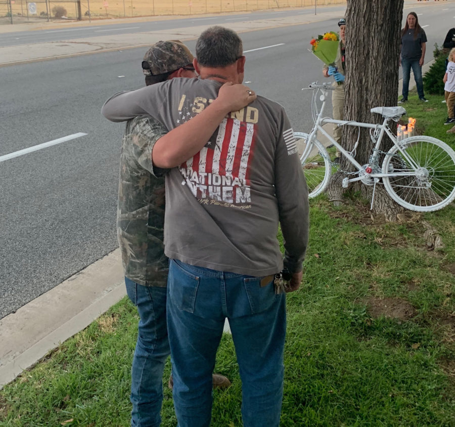'Ghost bike' memorial created for bicyclist killed in Valencia