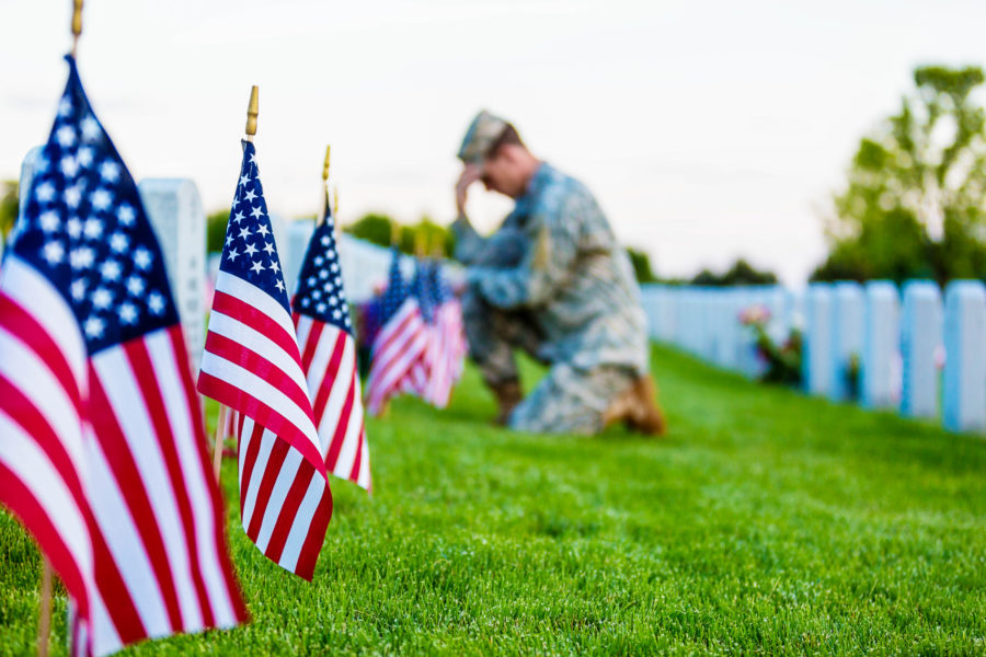 Honoring Memorial Day while in quarantine