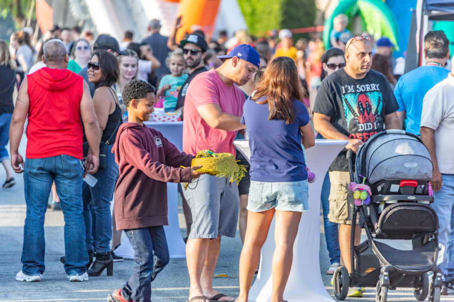 Local families hit canyon country for some Summer Bash fun