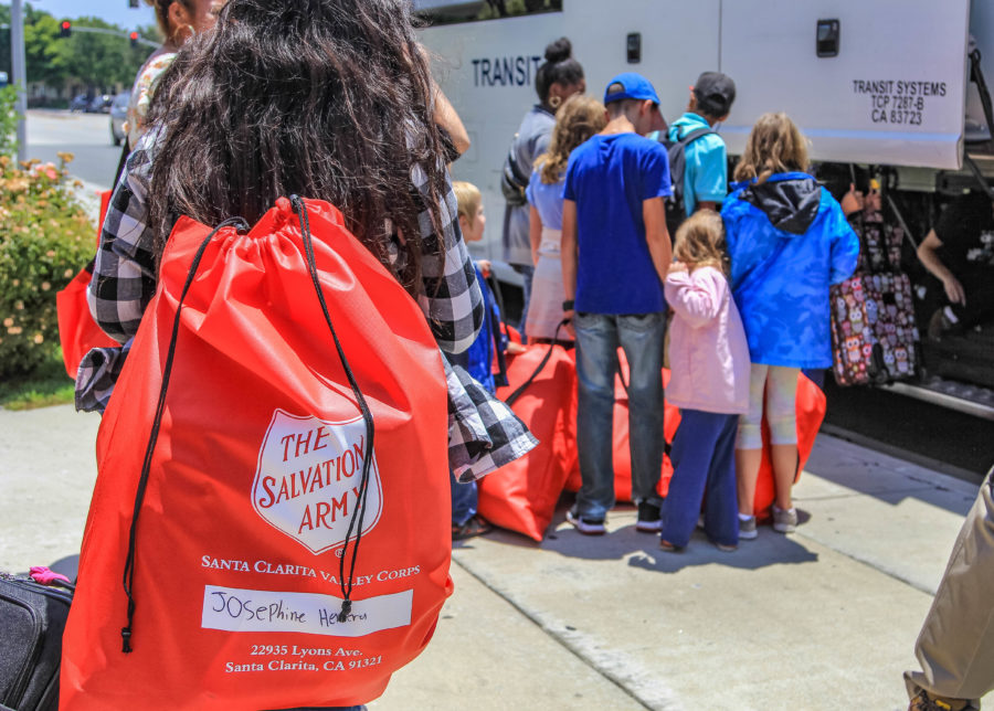 Salvation Army teams up with Walmart to 'Stuff the Bus'