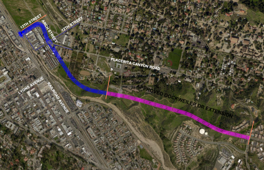 Engineers offer closer look at Dockweiler Drive extension project