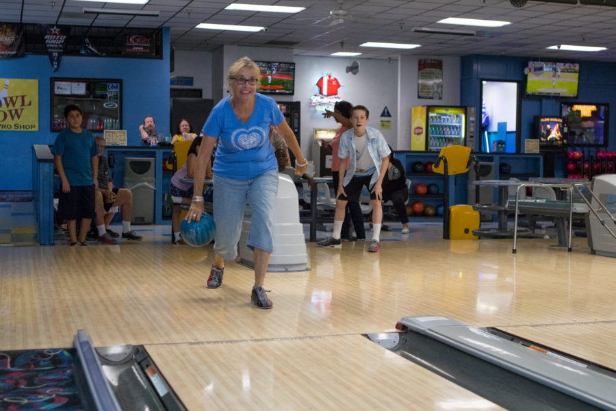 Grandparents as Parents hosts bowling day