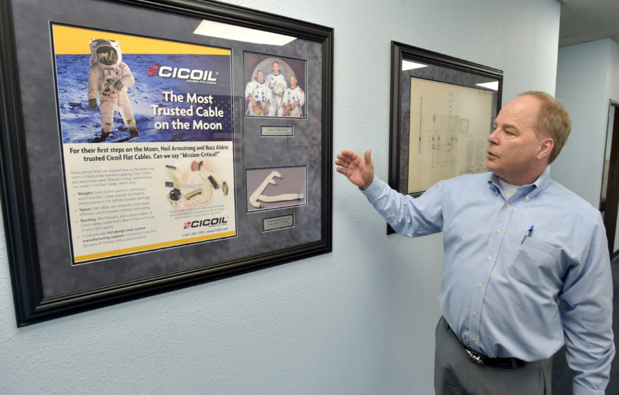 Cicoil marks anniversary of 'one small step'