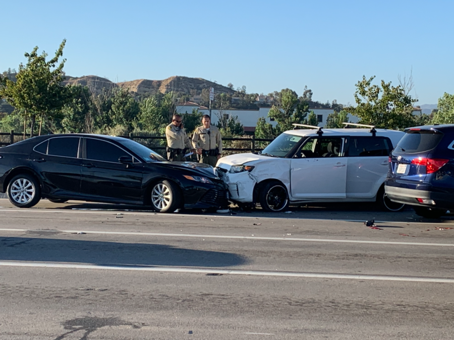 Head-on collision sends one to the hospital