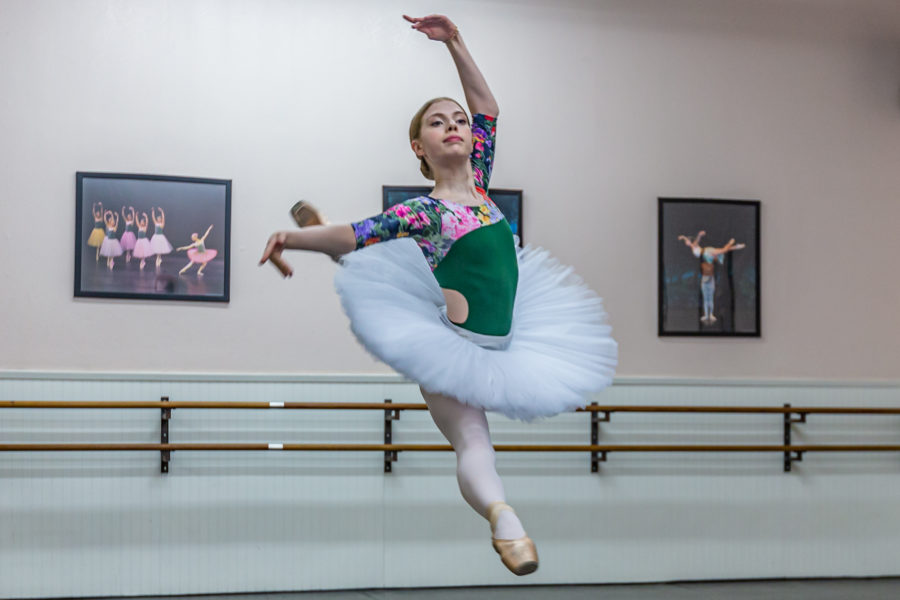 Ballerina ready for next 'stepping stone'