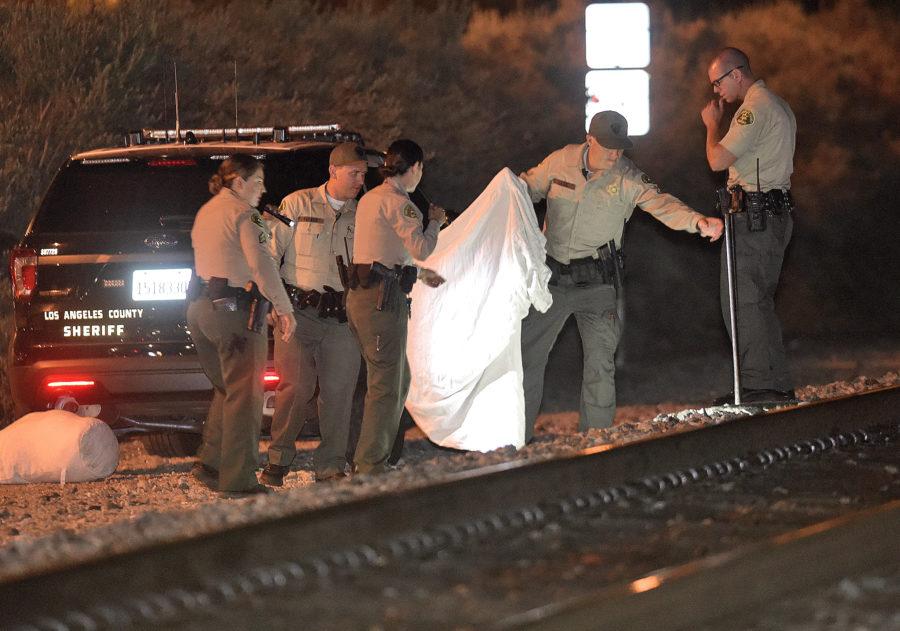 Coroner IDs Santa Clarita woman struck by train Thursday night