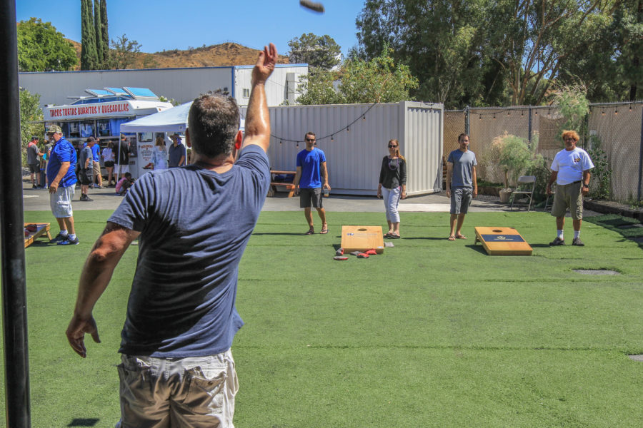 Calling all cornhole enthusiasts: Avenues SLS cornhole tournament returns