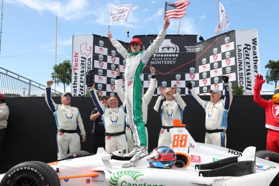 Herta wins in IndyCar season finale