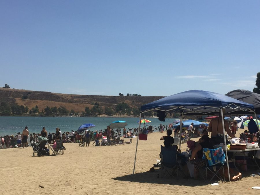 State removes algae caution for Castaic Lake