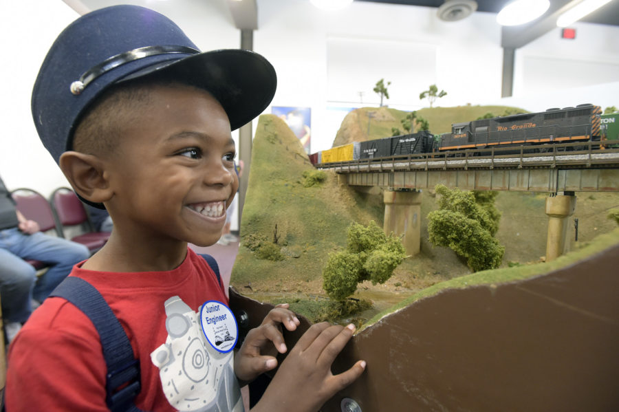 Full steam ahead at 'The William S. Hart Train Show'