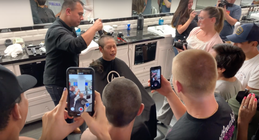 Valencia student diagnosed with leukemia; teammates shave heads in support