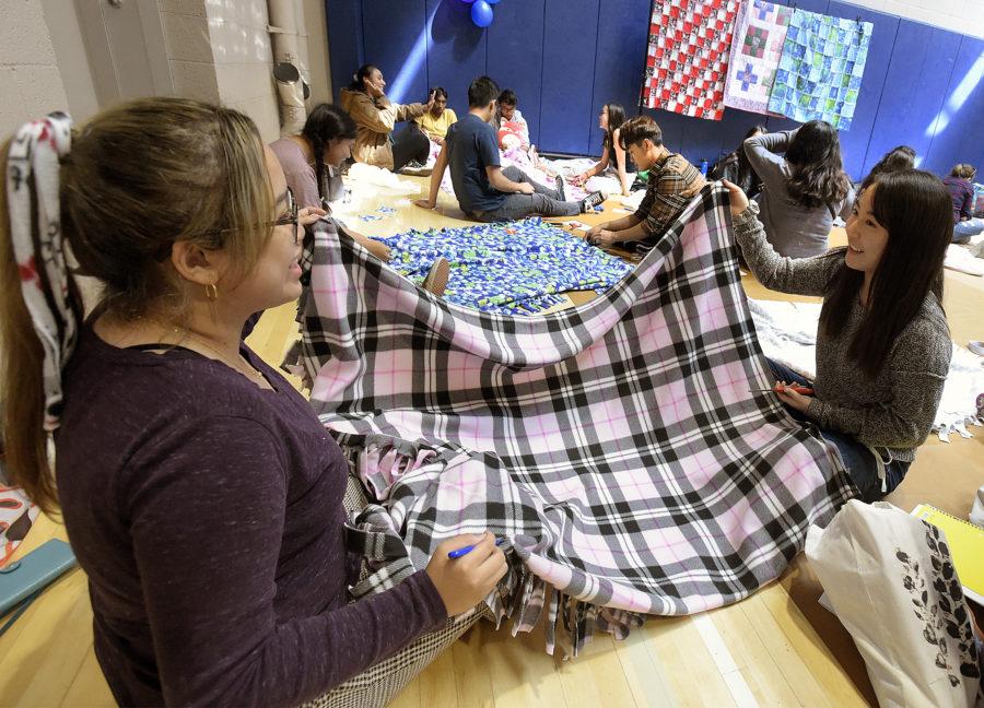 Project Linus: Student-run organization makes blankets for sick, traumatized kids