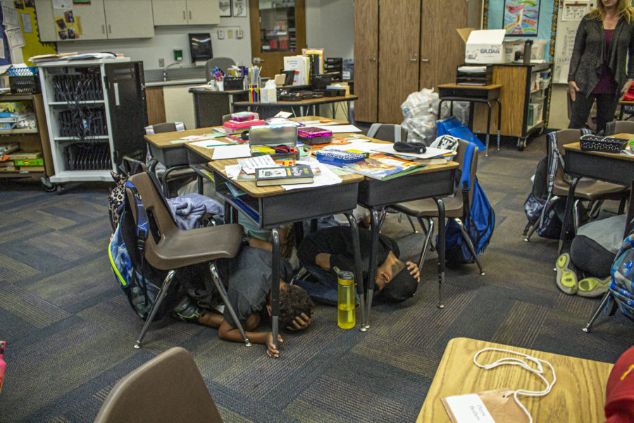 ShakeOut reminds residents to prepare for earthquakes