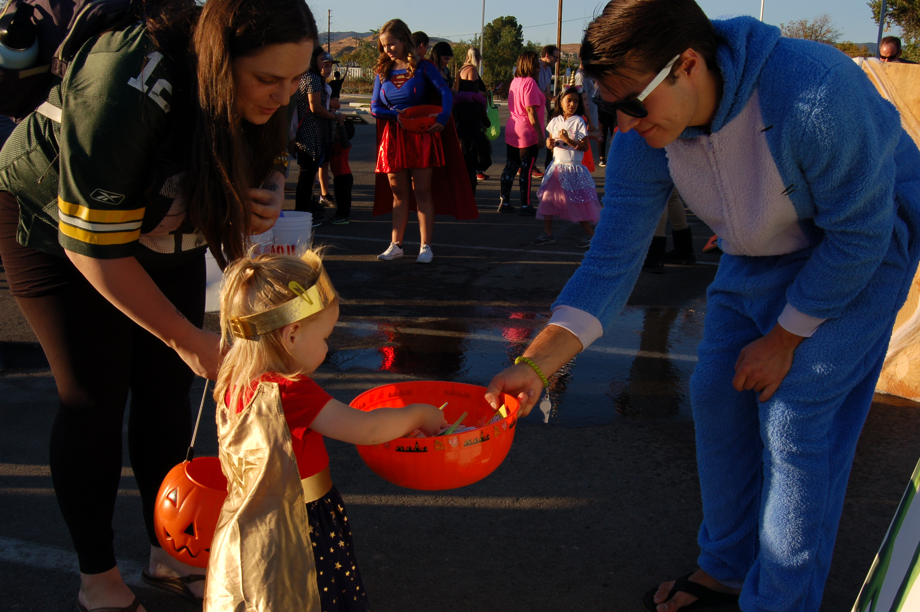 Halloween takes over Castaic Sports Complex