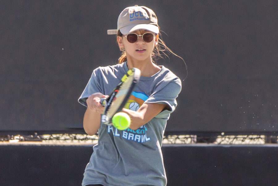 Saugus singles players leave it all on the court at Foothill League prelims