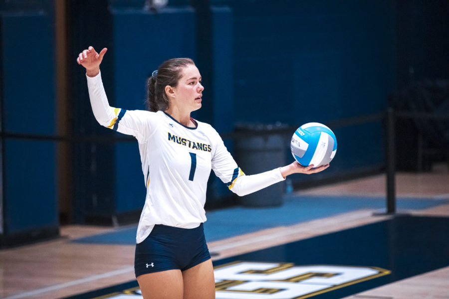 TMU Insider:  Master's volleyball rallies to take down No. 21 Vanguard in five