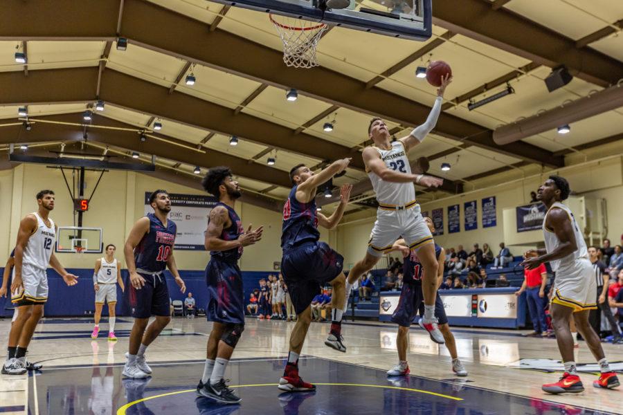 TMU men's hoops hands University of Antelope Valley first loss of season