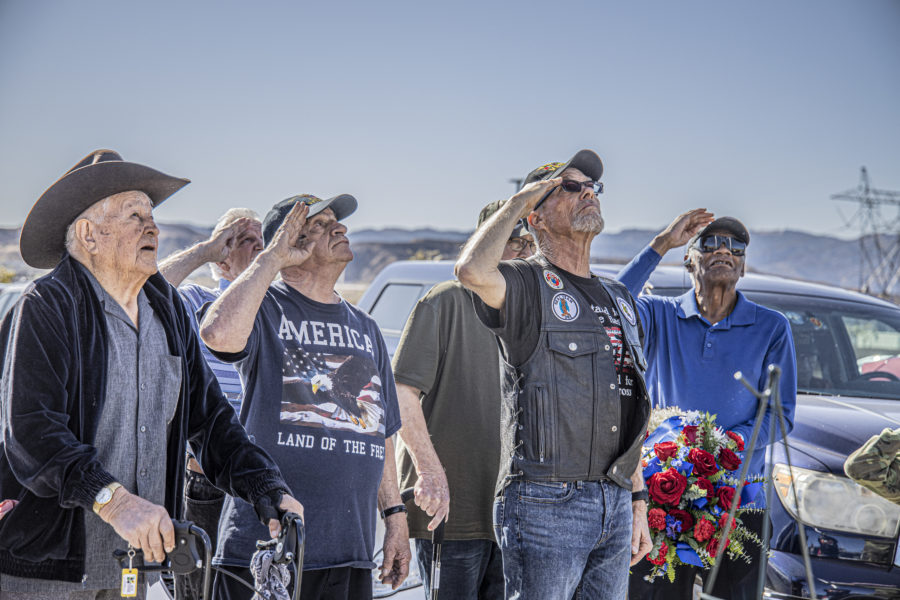 Bella Vida senior center honors veterans