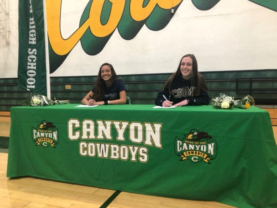 Foothill League athletes sign NLIs