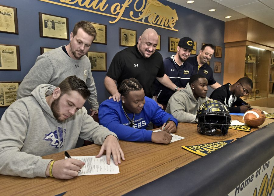 National Signing Day sends Canyons, Hart student-athletes around country