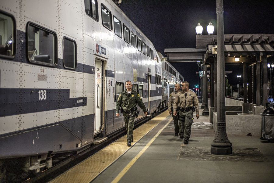 Search for kidnapping suspect leads to unrelated arrest on Metrolink train
