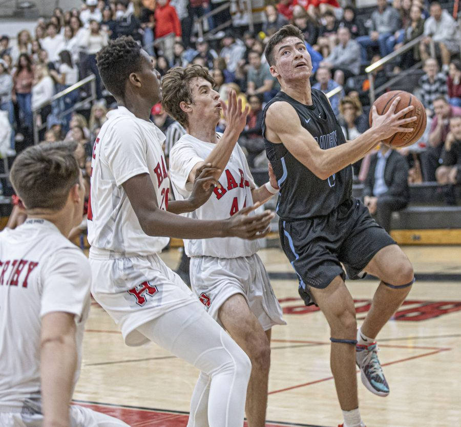 Saugus boys basketball comes out on fire against Hart; Vikings roll