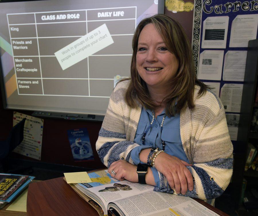 Castaic Middle School Teacher awarded District Teacher of the Year