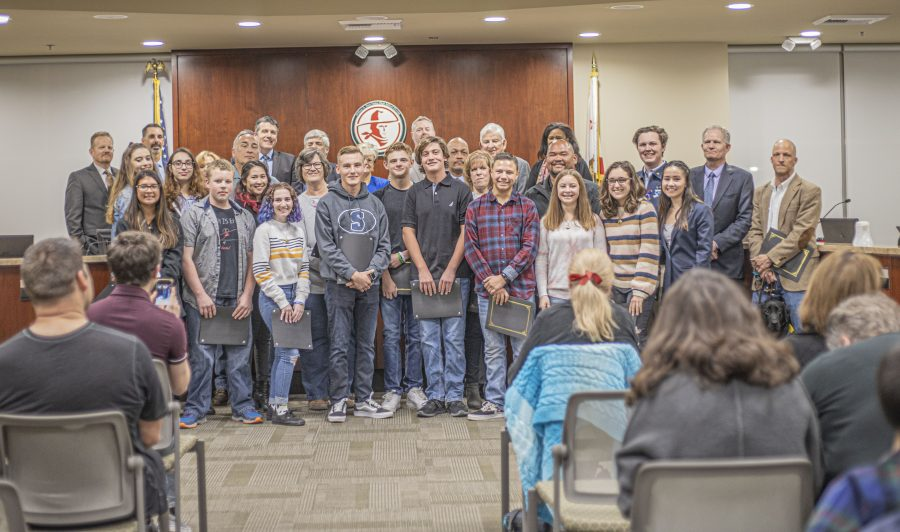 Hart District recognizes Saugus High students, staff for courage during Nov. 14 shooting