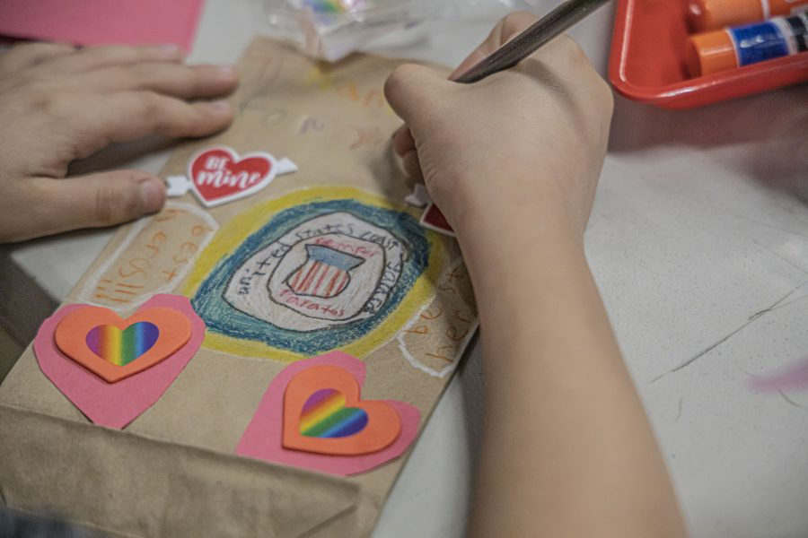 Community makes valentines for 'Hometown Heroes'