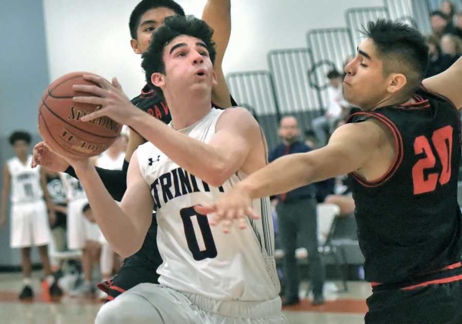 Frazier returns for senior season to help lead Trinity boys basketball to CIF-SS title game