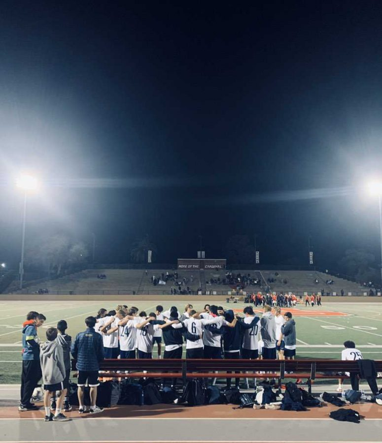 Saugus boys soccer comes up short in first round of playoffs