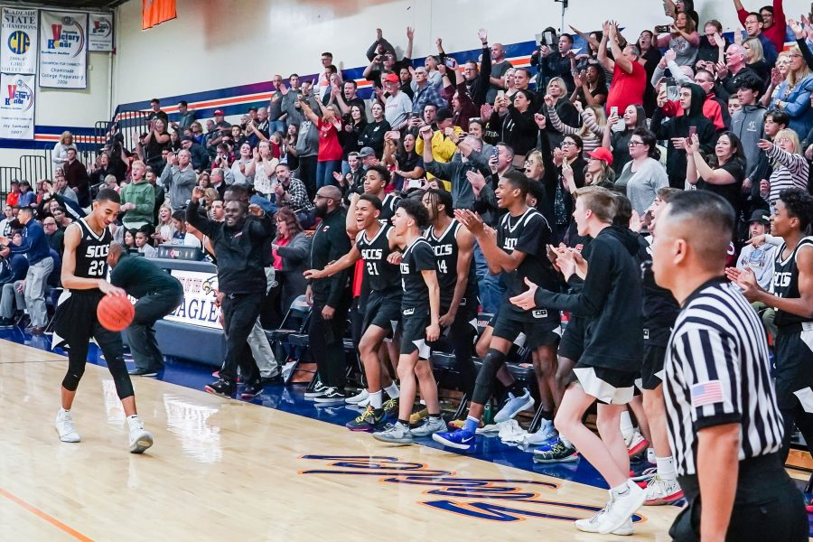 SCCS boys hoops heads to third-straight CIF-SS title game after OT thriller
