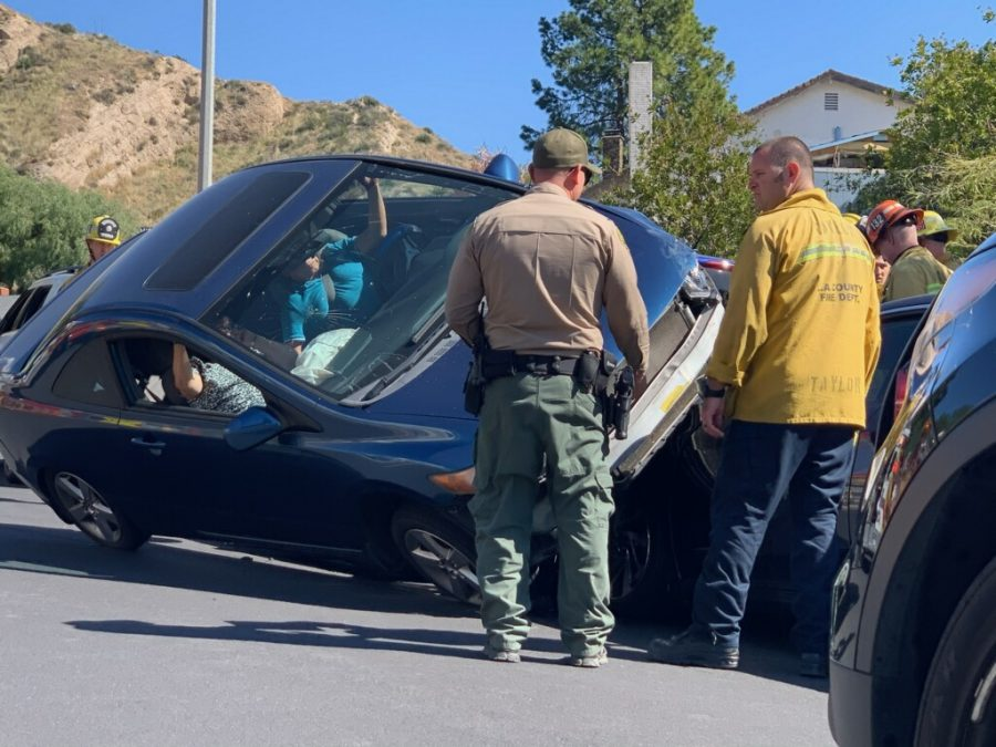 Multiple persons trapped in rollover crash near Pinetree