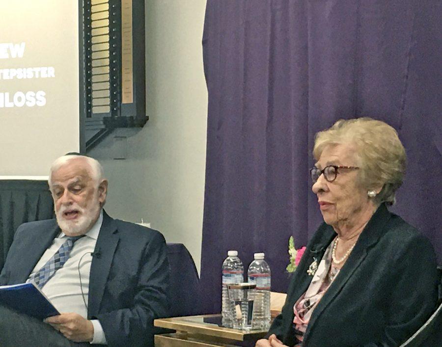 Holocaust survivor, Anne Frank's stepsister, visits the SCV