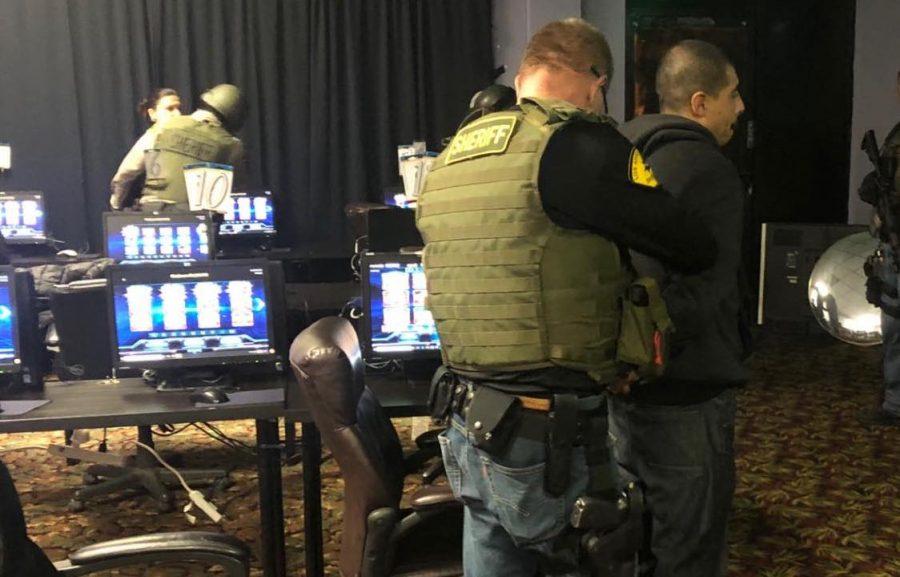 COBRA team arrests three on suspicion of illegal gambling