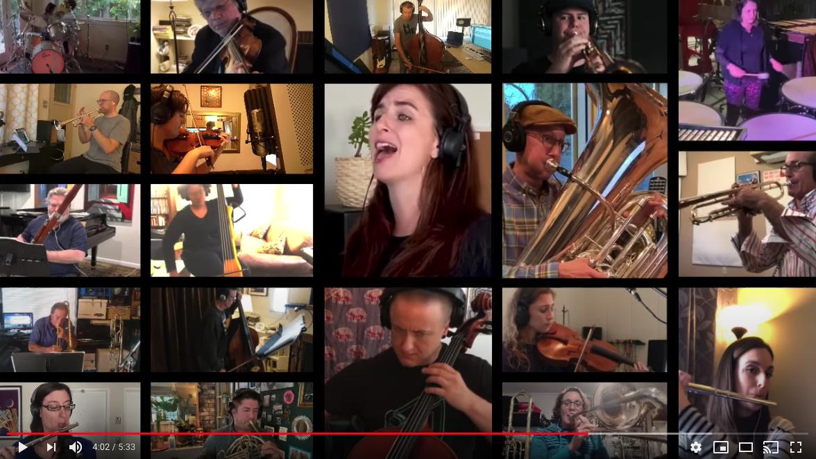 SCV resident creates a virtual symphony