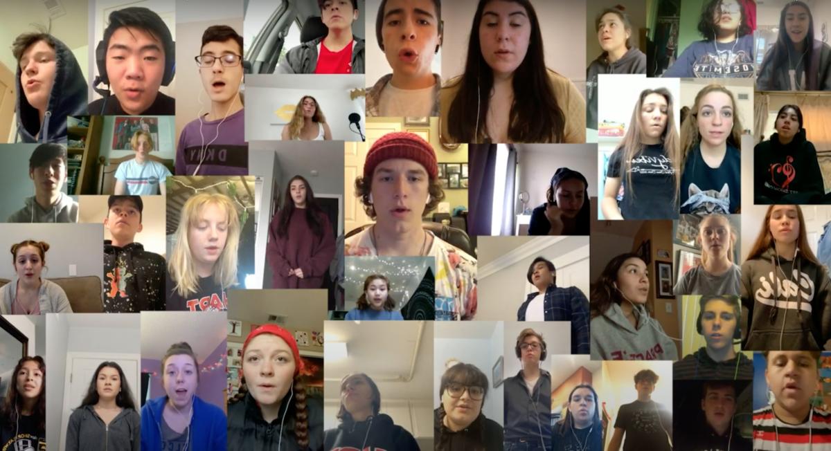Hart show choir takes on a virtual connection