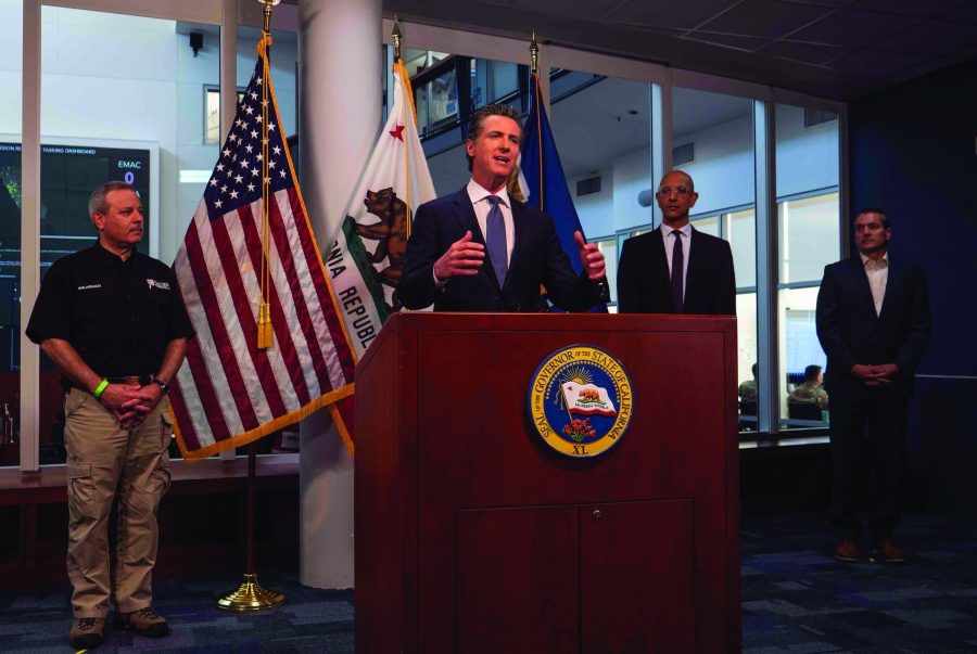 Newsom discusses playbook for people dealing with the stress of isolation