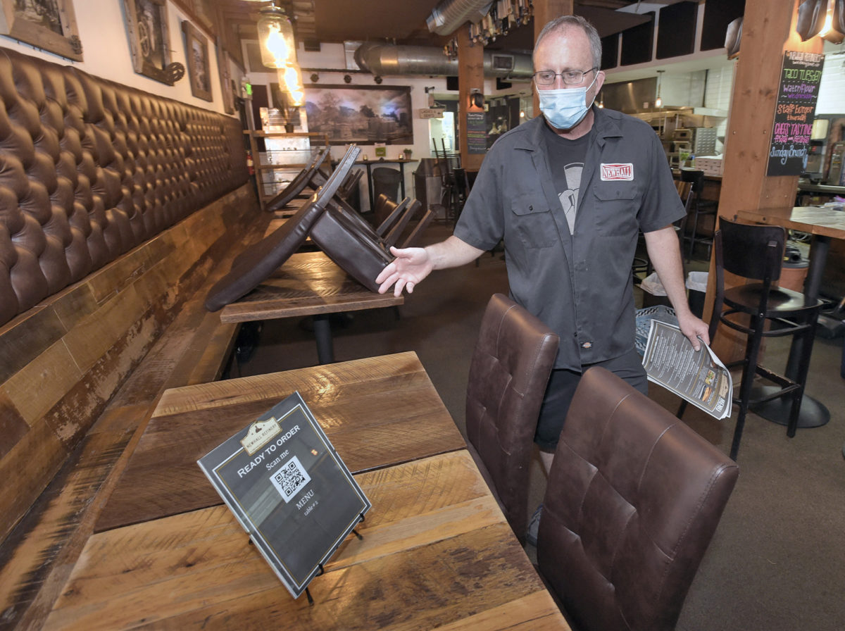 SCV restaurants searching for 'new normal'