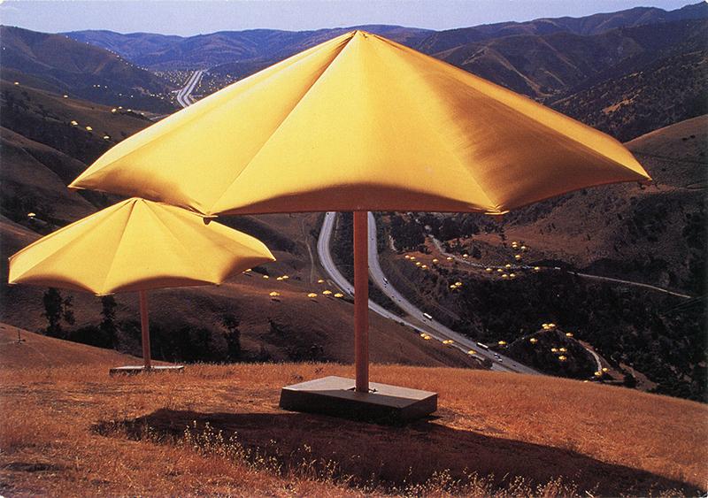 Christo, artist behind umbrellas project in Tejon Pass, dies