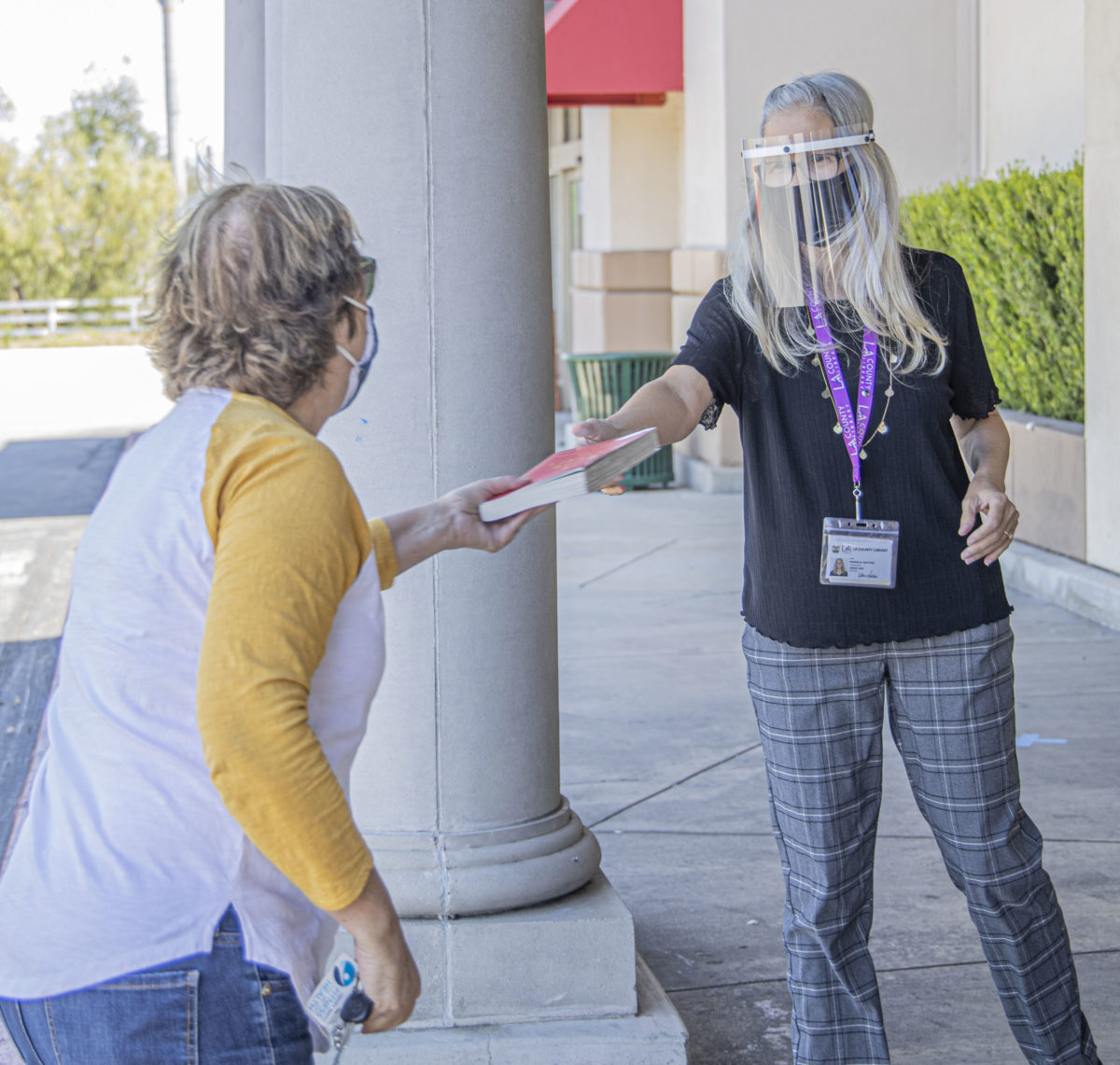 SCV libraries begin offering curbside services, continue virtual programs
